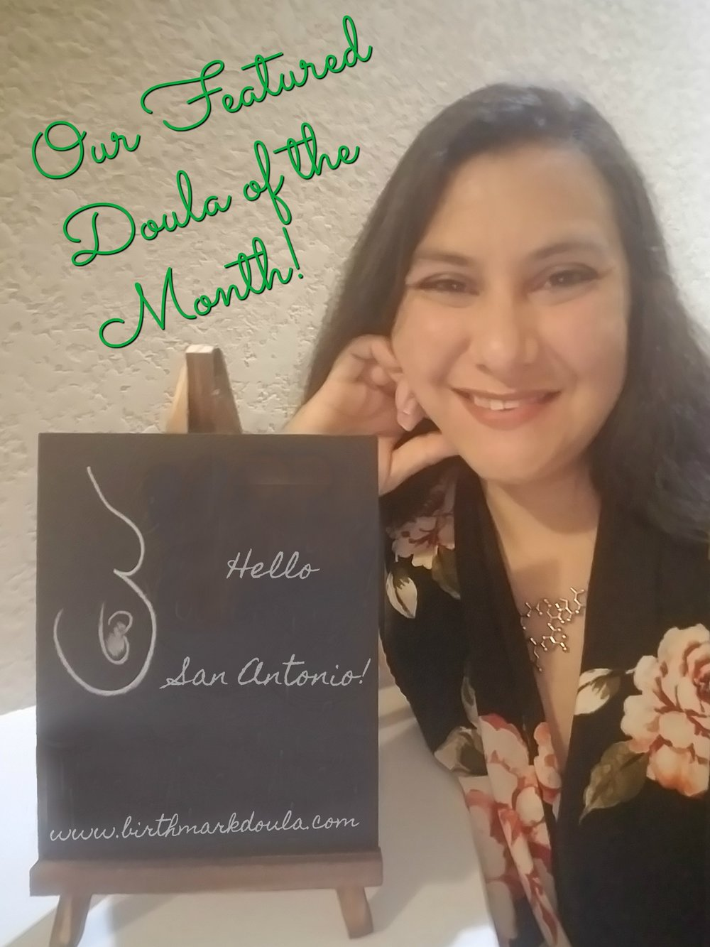oUR FEATURED DOULA OF THE MONTH!