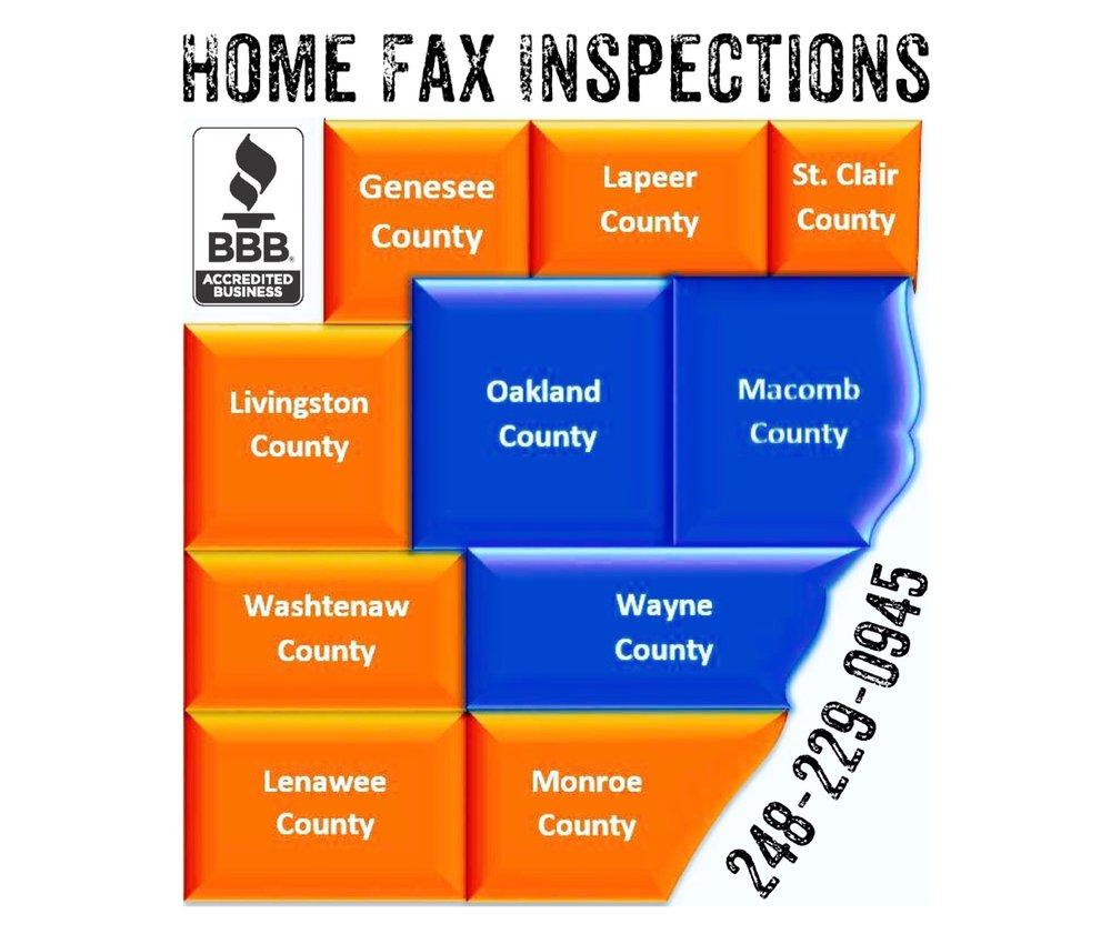 home fax inspections coverage area