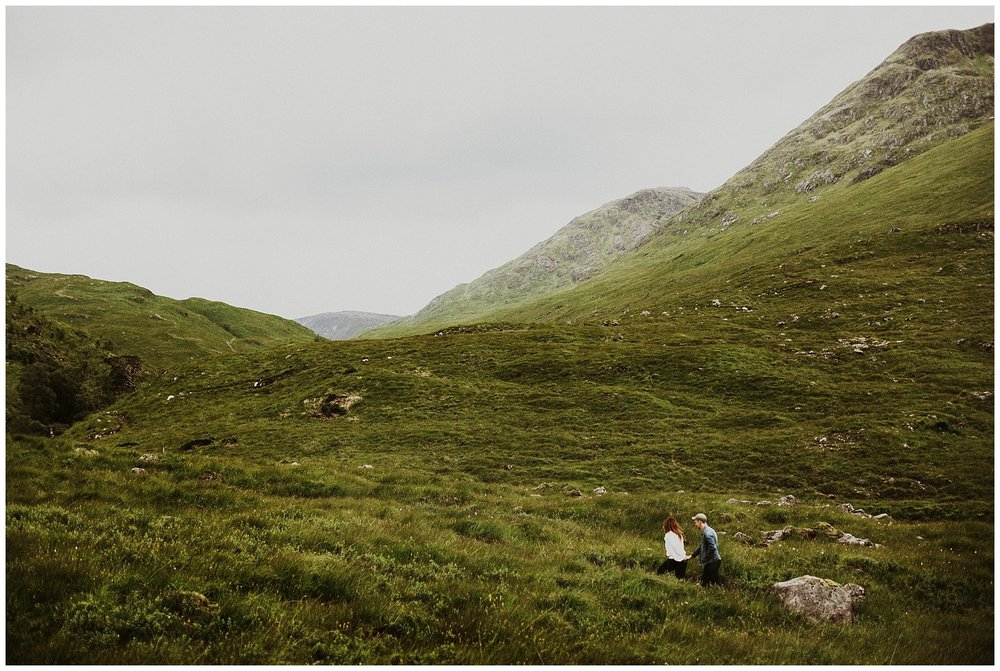 Immerse - in the magic of the Scottish Highlands with the cutest damn couples alive.