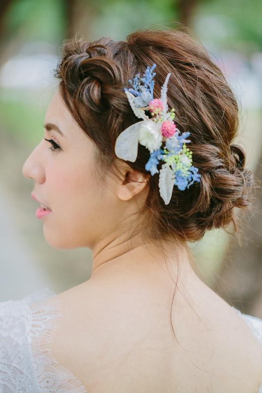 Max fine art x KIELO Floral Design 珂蘿花設計 x Queenie 小皇后婚禮造型工作室