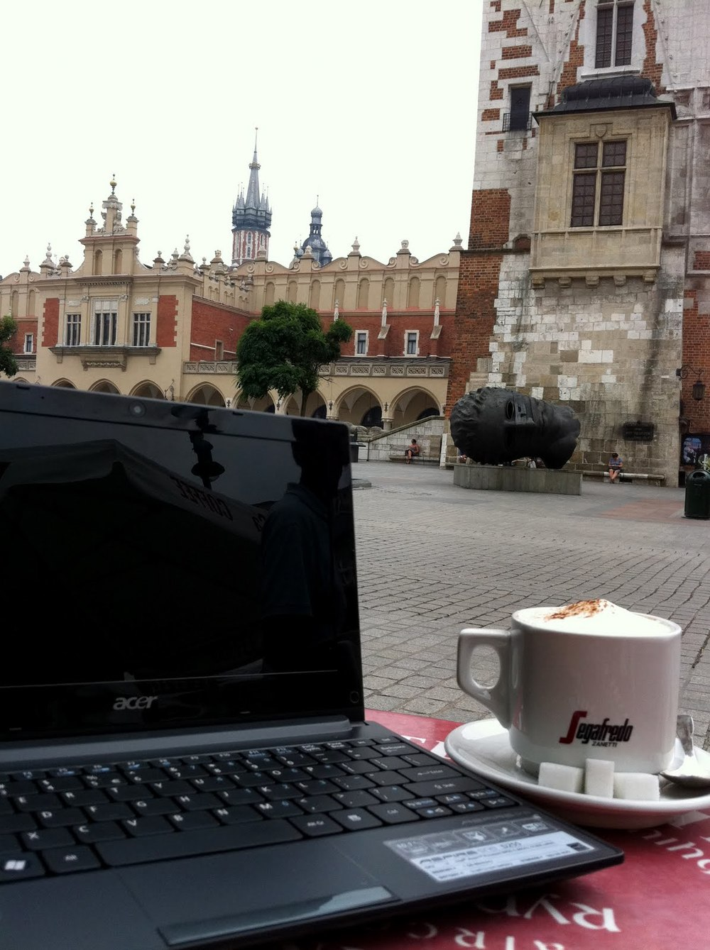 Main Square Cafe: Krakow, Poland