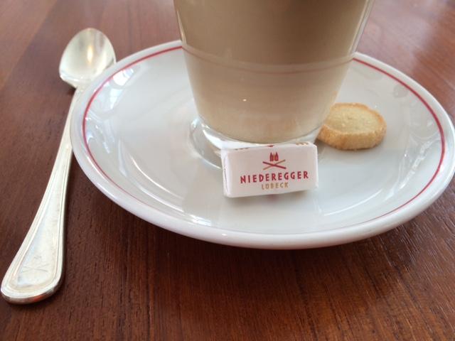 Café Niederegger: Lübeck; Germany