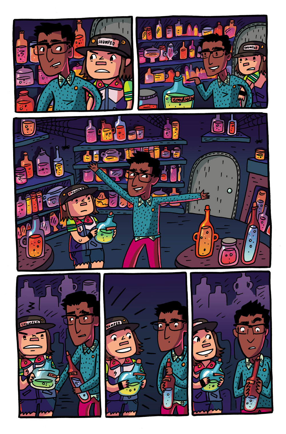 Colors for Coady and the Creepies Issue #4 (Boom! Box)