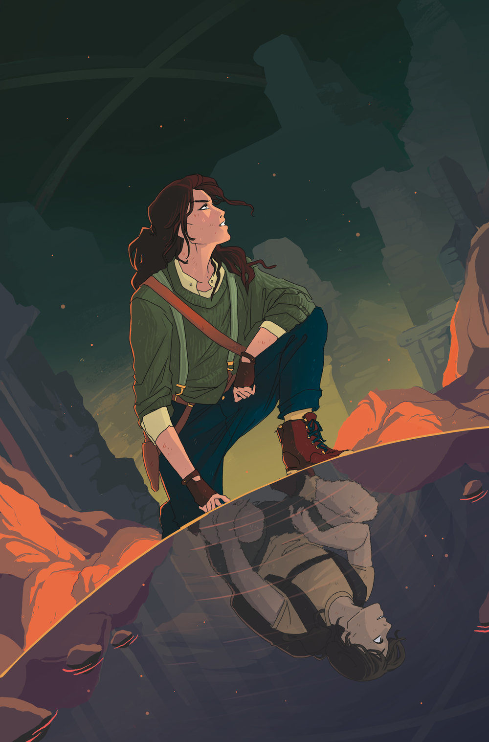 Cover  - Tomb Raider: Survivor's Crusade  #3 - Dark Horse Comics