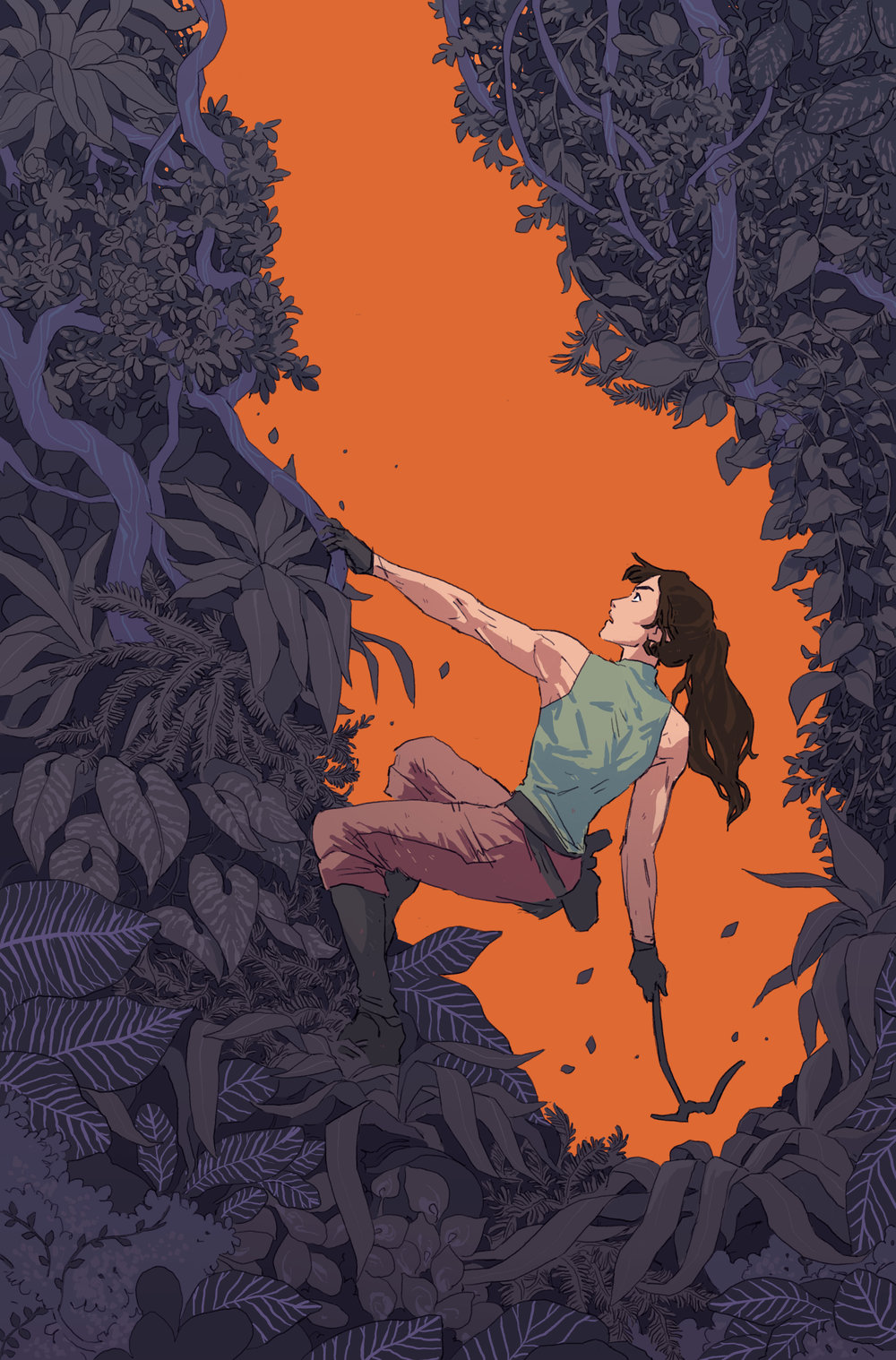 Cover  - Tomb Raider: Inferno  #2 - Dark Horse comics