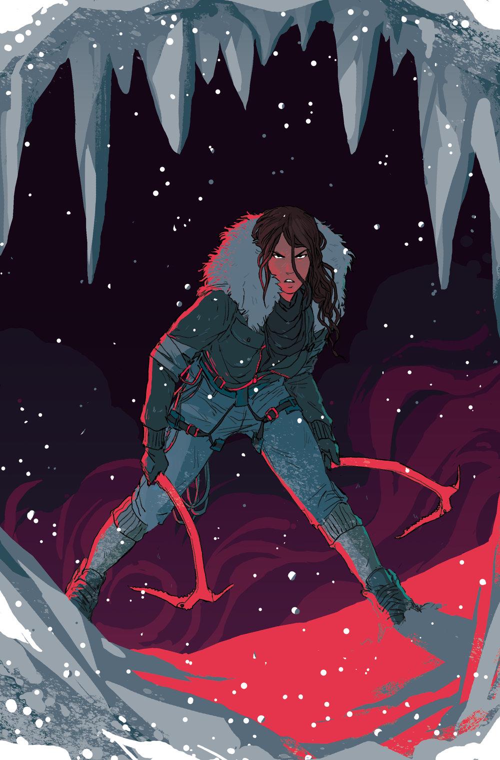 Cover  - Tomb Raider: Inferno  #4 - Dark Horse Comics