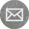email silver round social media icon .png