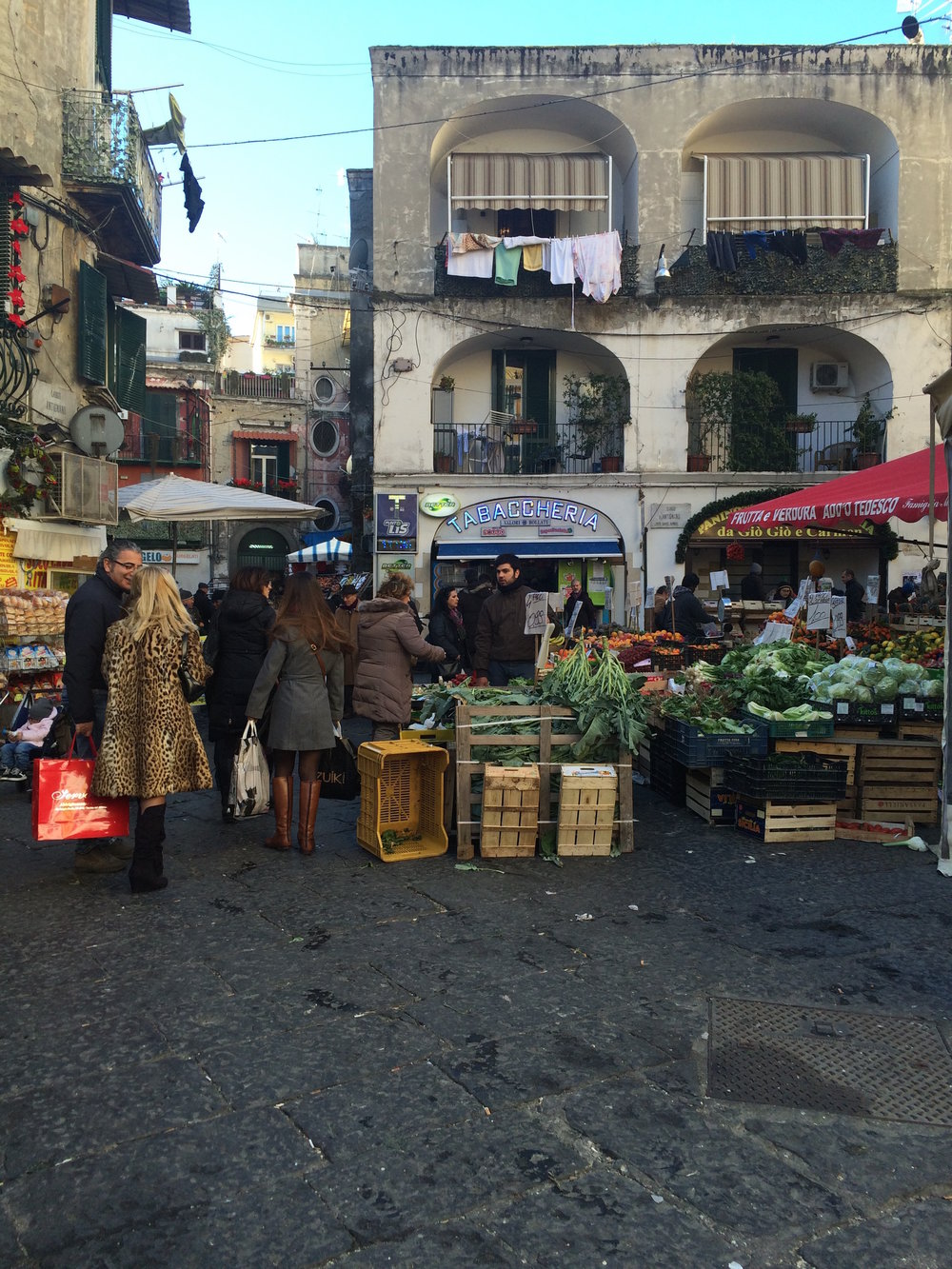 The Antignano Market, open daily for all of my shopping needs.