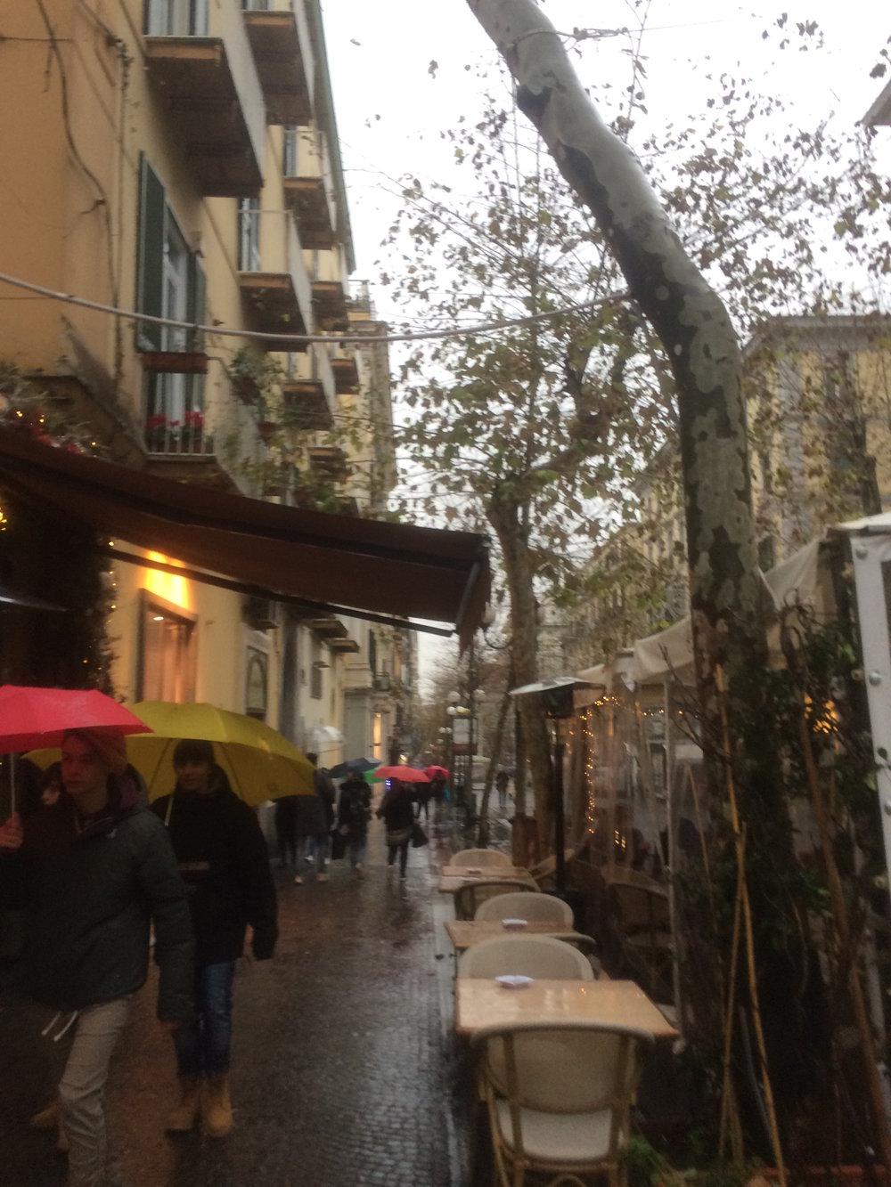 Rain in Napule