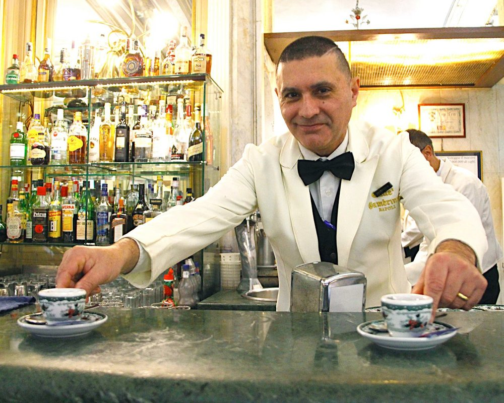 Gran  Caffè Gambrinus, a beloved Neapolitan institution