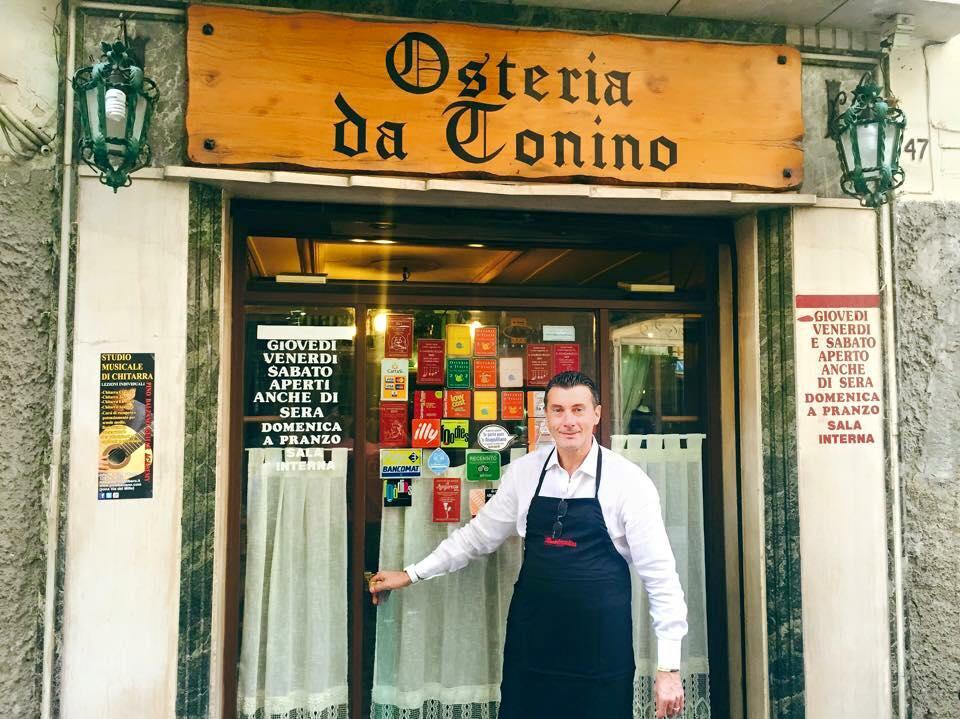 Osteria da Tonino | Photo Credit: Kristin Melia