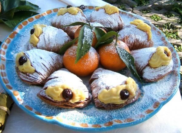 The Santa Rosa style sfogliatella pastry