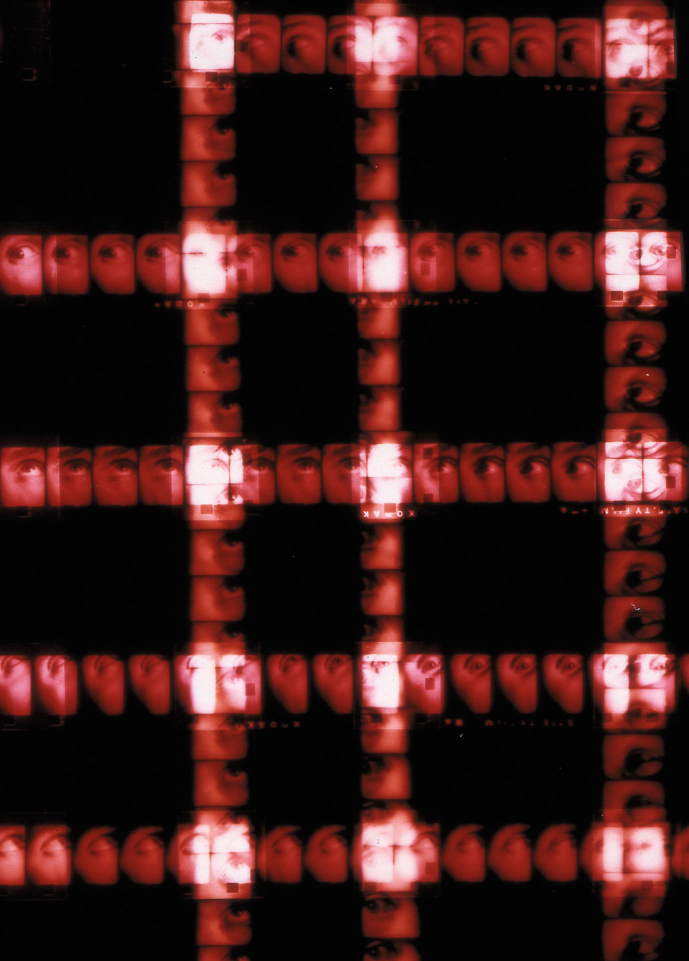 Plaid 7 (red paranoia)