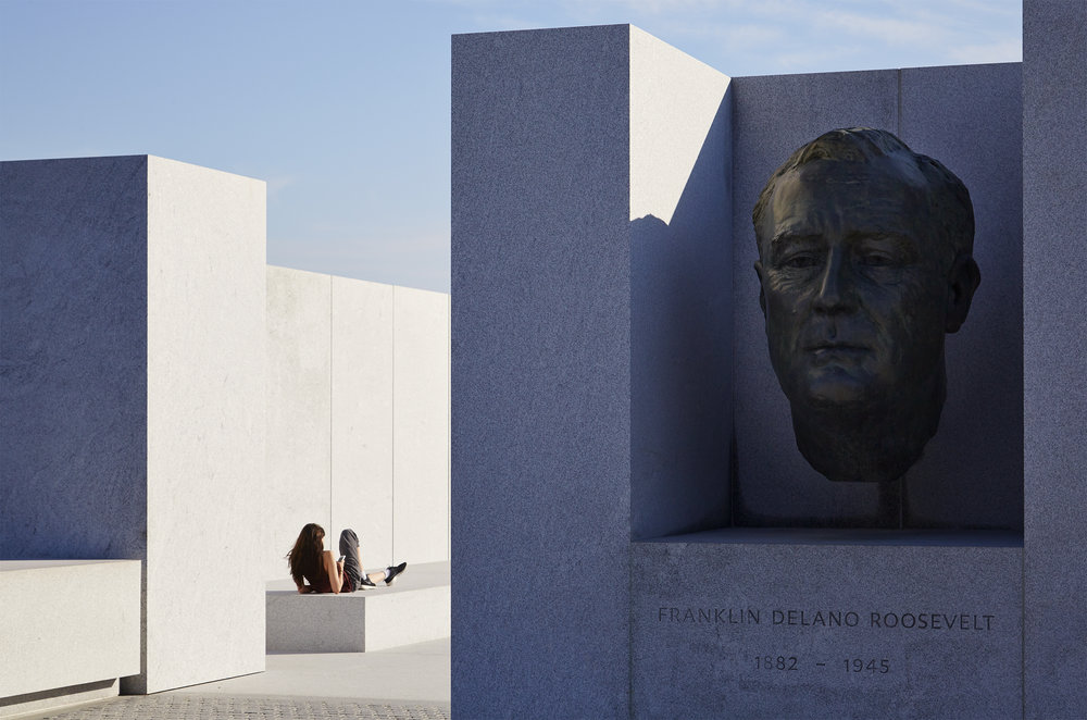 Franklin Roosevelt Four Freedoms Park - Louis Kahn