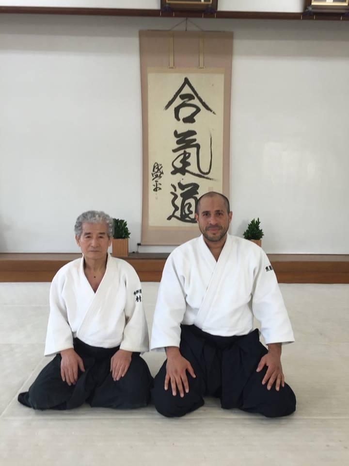 Sensei Merea sammen med Shunzou Murata i Hombu Dojo