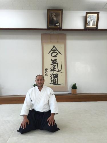 Sensei Merea i Hombu Dojo