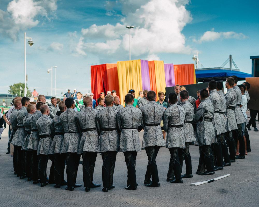 Color Guard Circle