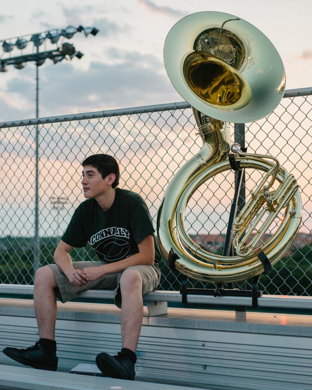 Sousaphone Player