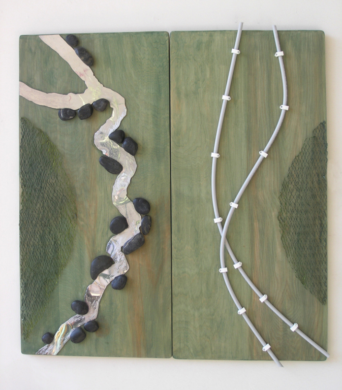 River-Pipeline Diptych