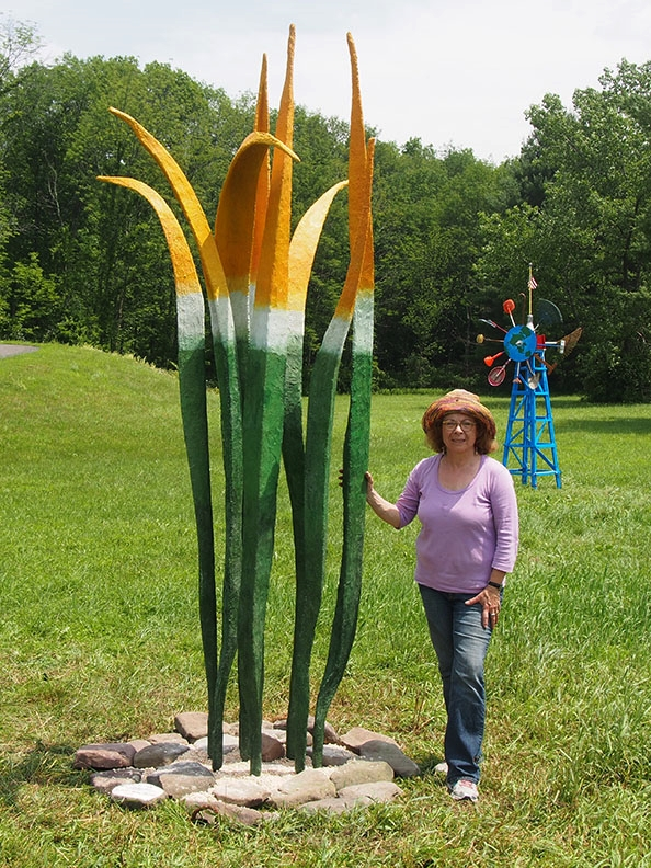 """Cactus Palm""   at the Catskill Interpretive Center"