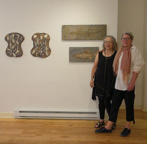 Elizabeth Ennis & naomi Teppich, curators of Bare Bones