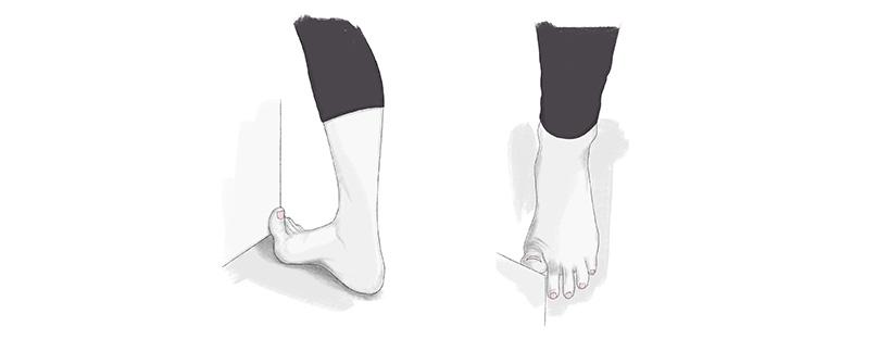 tango foot stretch