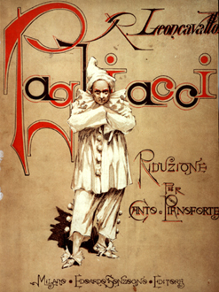 Cover of the first edition of Pagliacci