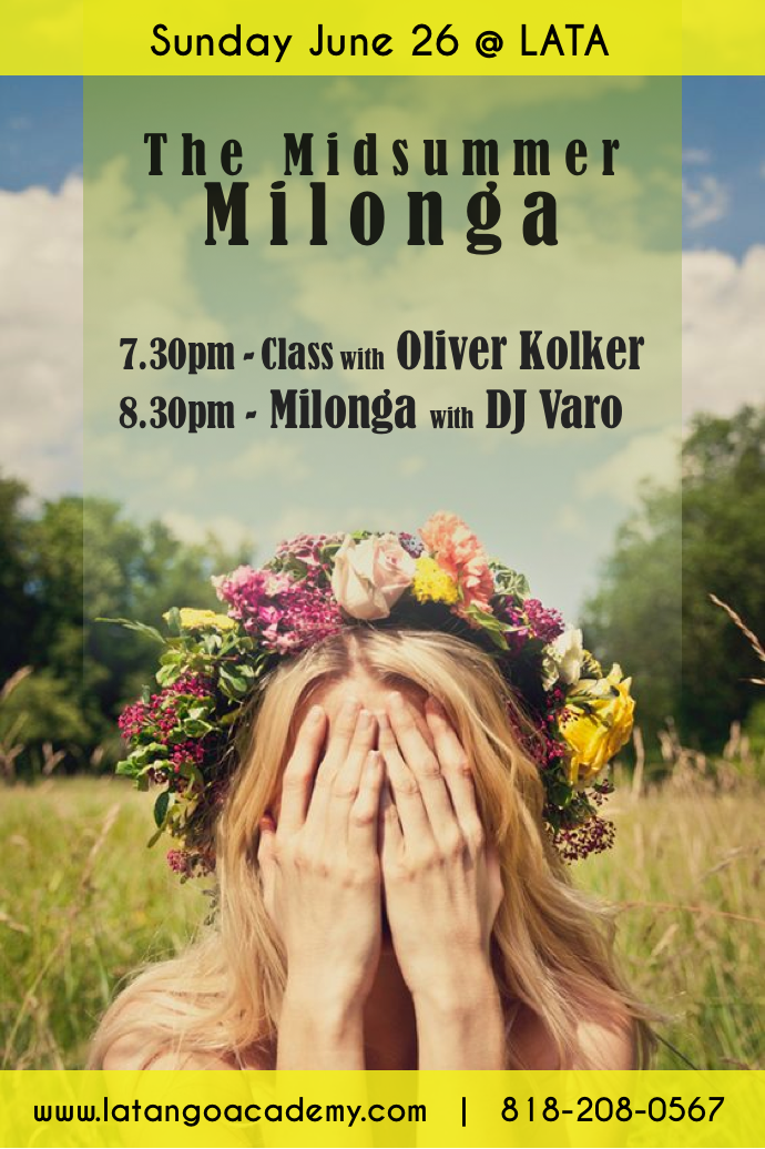 the midsummer milonga