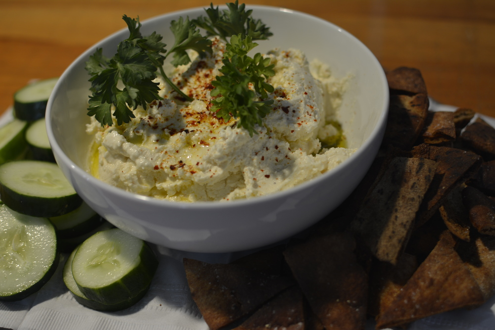 The champion--Kelsey's Spicy Feta + Greek Yogurt Dip