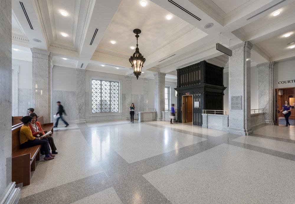Salem PFC - Upstairs Lobby