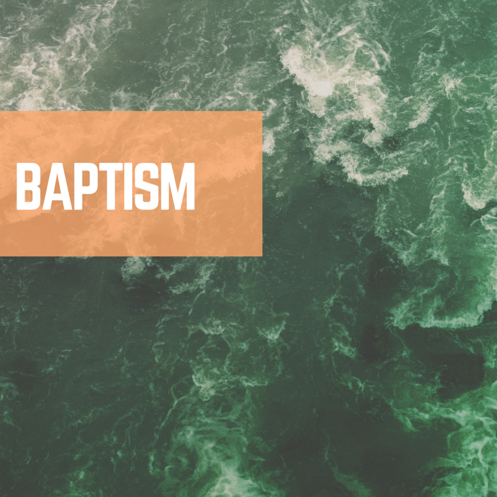 Let's get the ball rolling for our next Baptism celebration.