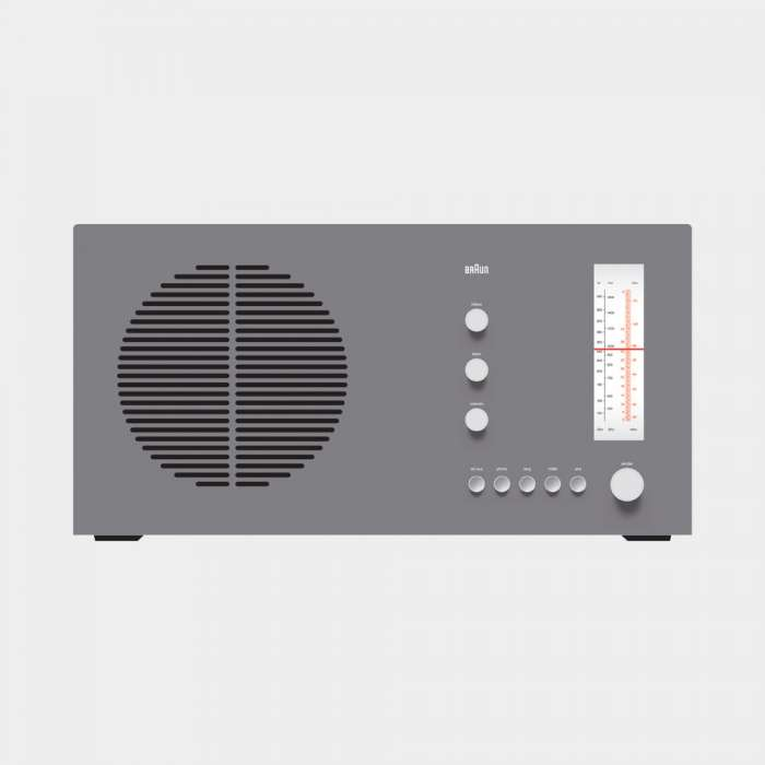 RT 20 tischsuper radio, 1961, by Dieter Rams for Braun