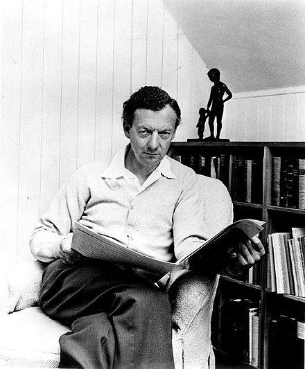 Benjamin Britten (photograph by Hans Wild)