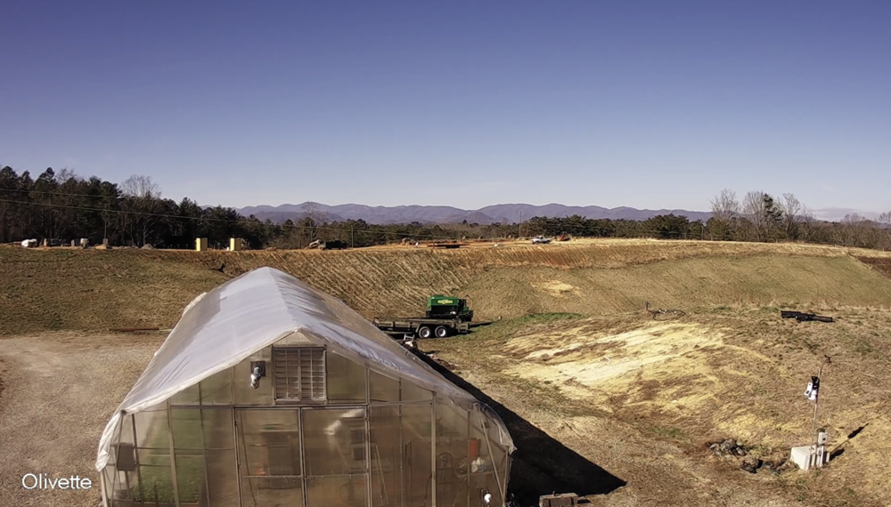 Olivette Riverside Farm Community Live Camera - Located in Alexander, NC this beautiful farm community is situated directly on the French Broad River, but has unique long range mountain views as well. Site are still available, so visit their website for more information https://www.olivettenc.com