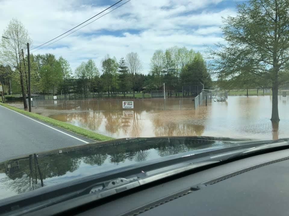 Another photo from Highway 64 sent in by Jessica Lewis