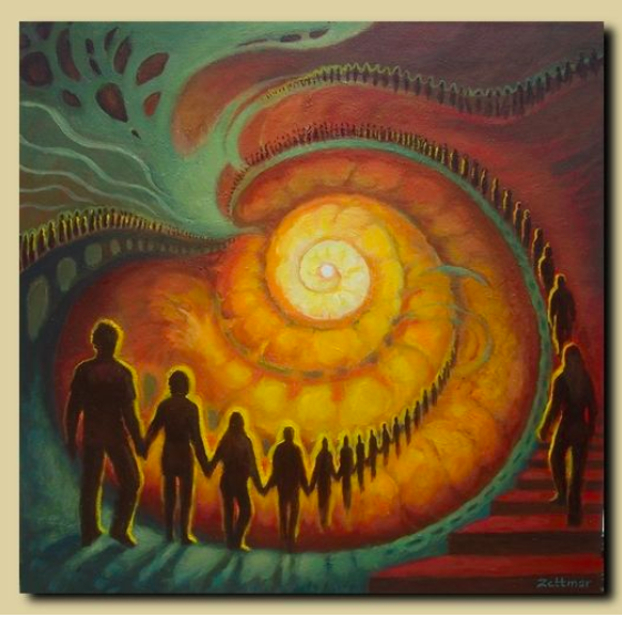 """Coming Together"" by Artist Kerstin Zettmar"