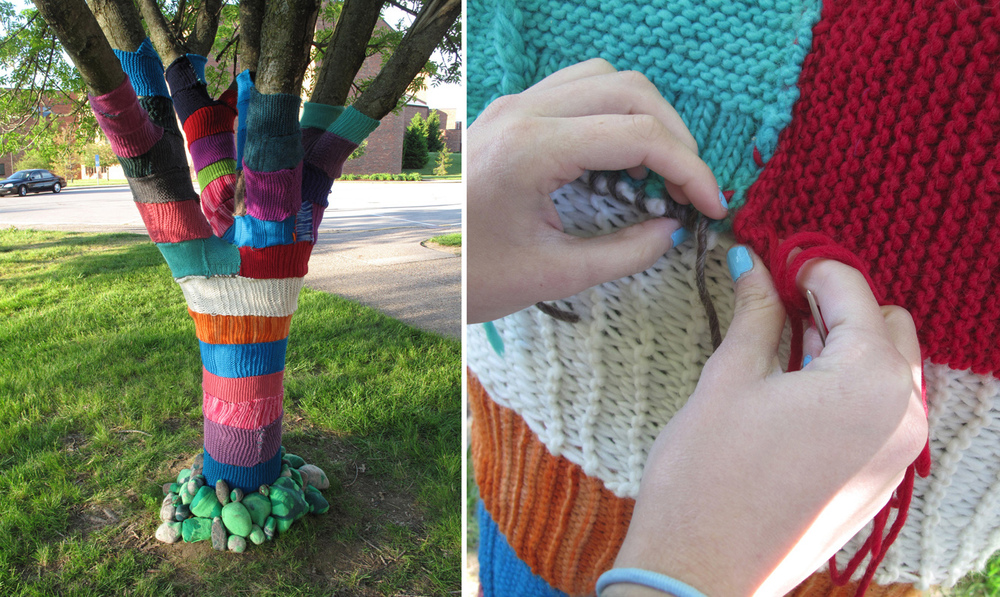 Project: (Knit) Bomb It