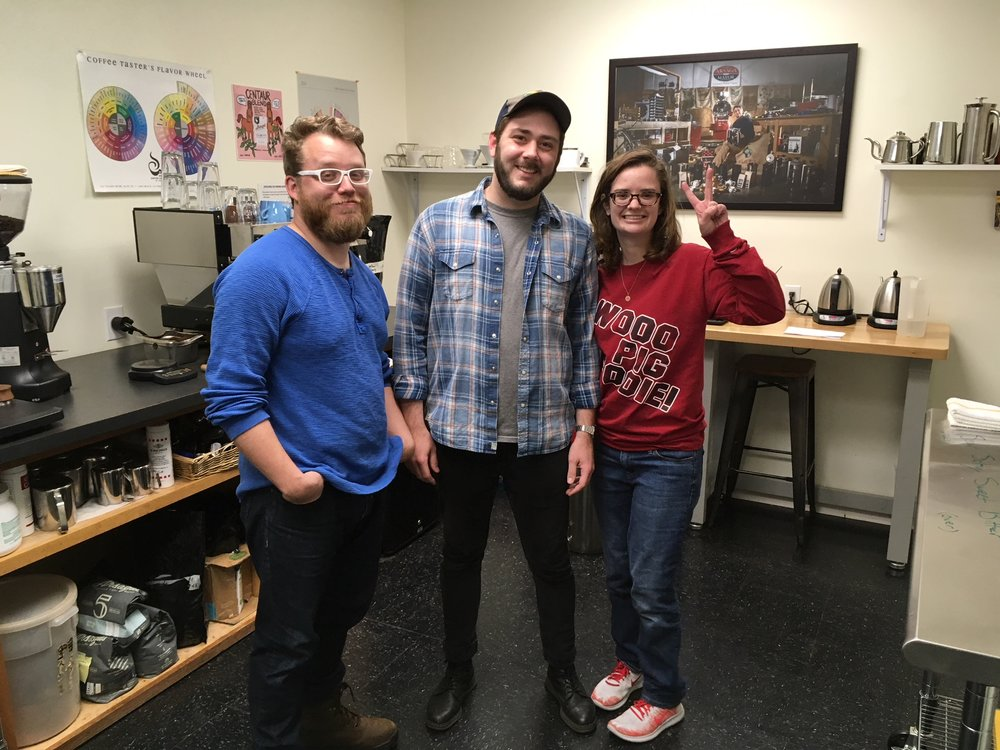 The Hum   Professional mentorship: Arsaga's Coffee Roasters supplies  The Hum  and trains students at their off-site teaching kitchen and roastery.
