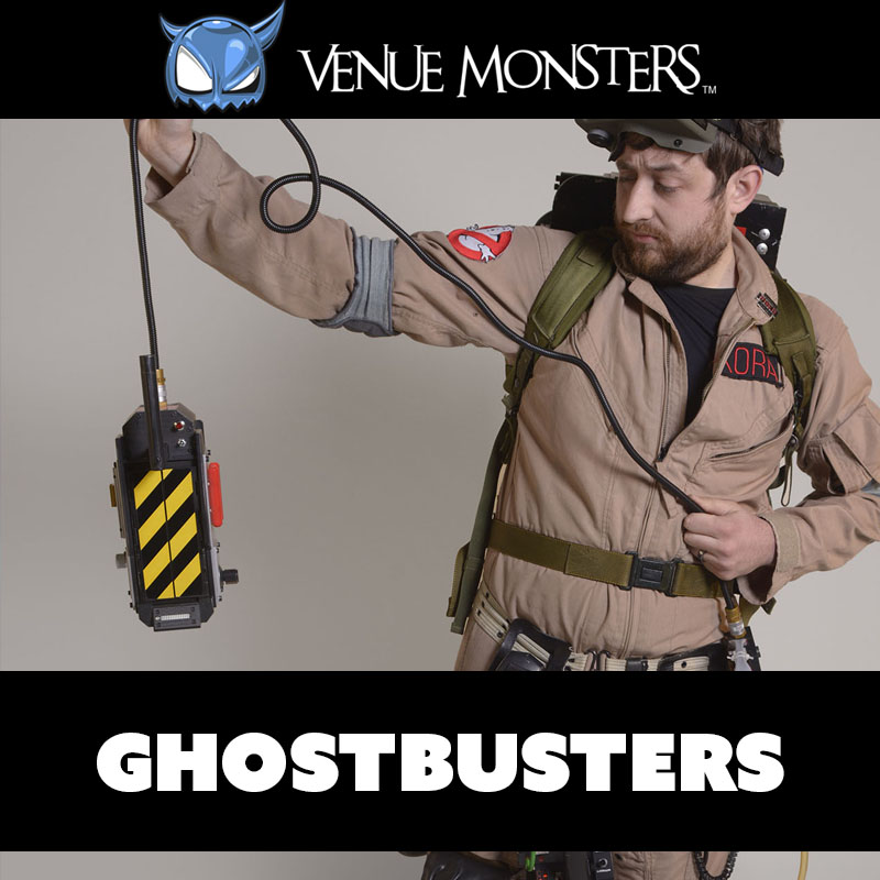 Ghostbusters in-studio