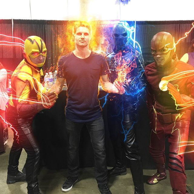 Boston Comic Con #flash #zoom #reverseflash #firestorm #theflash #dccomics #cosplay #bcc #bostoncomiccon #comiccon #cw