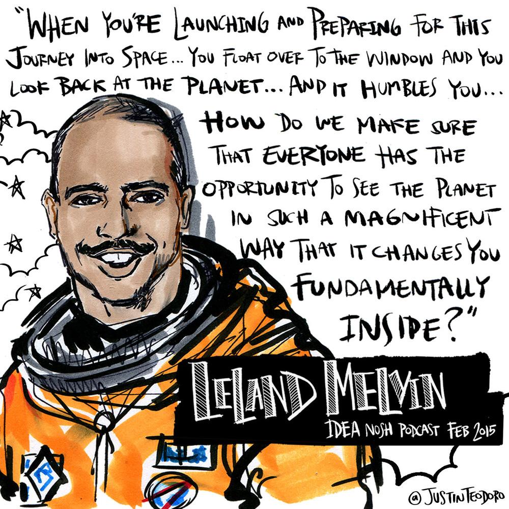 "Leland-Melvin-idea-nosh-podcast-Justin-Teodoro_art.jpg"""