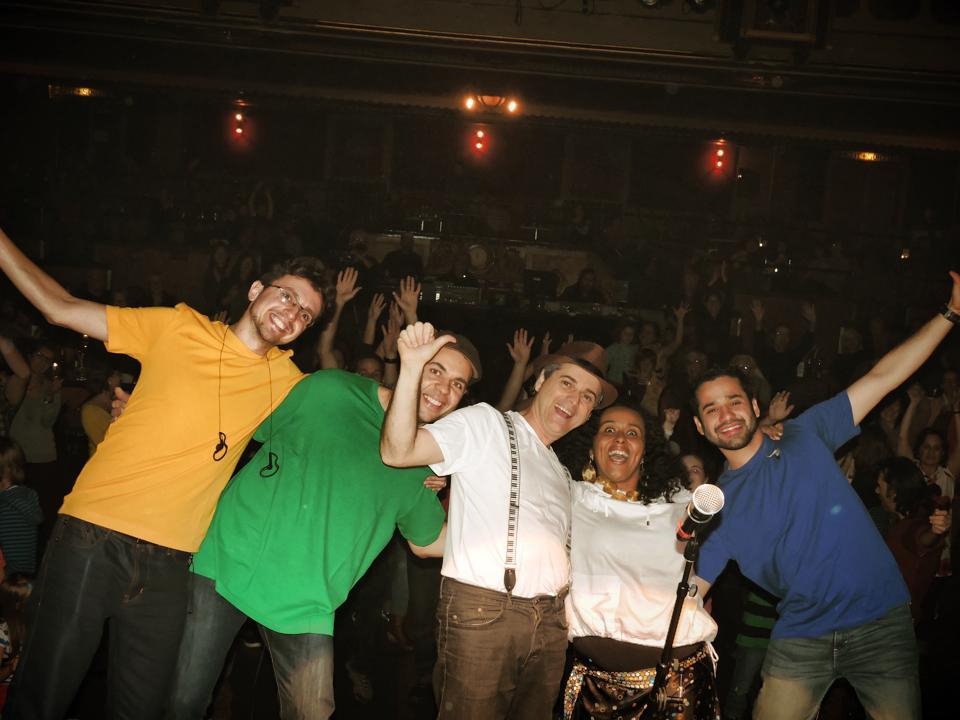Final show, selfie avec le public, Granada 11 oct 2014.jpg