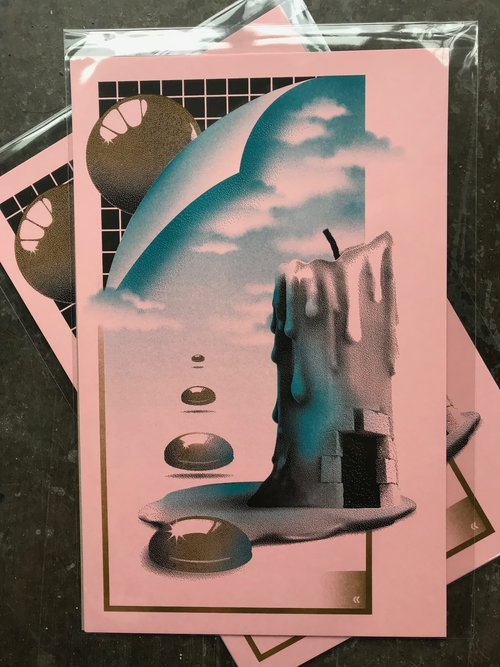 Eggs Over Chlorine 7 St Francis Elevator Ride Oddities Prints
