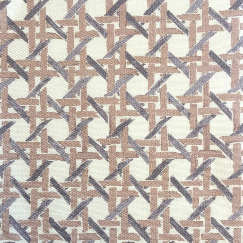 Cane Print in CREAM/TAUPE  PALM SPRINGS COLLECTION