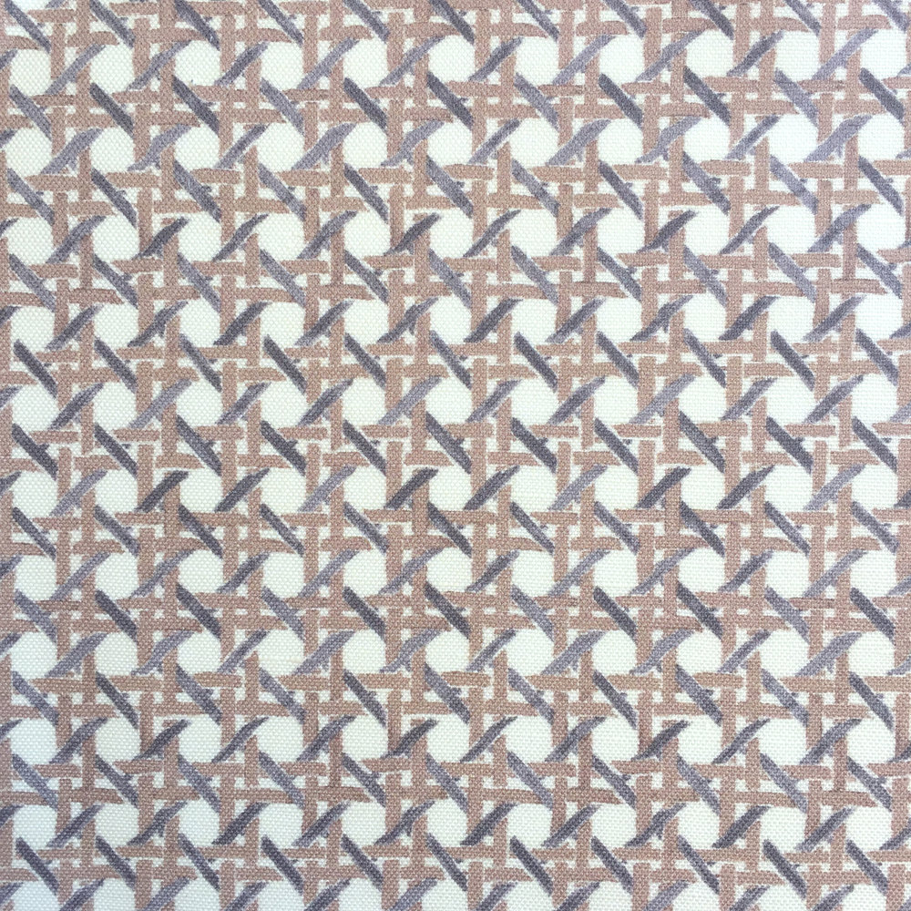 MINI Cane Print in CREAM/TAUPE  PALM SPRINGS COLLECTION