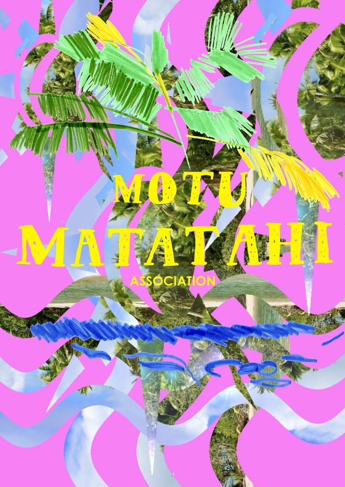 Motu Matatahi Association Poster DIN-A0, 200g Papier