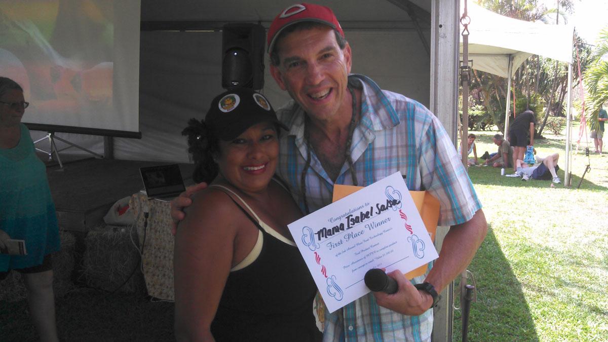 1st place - Mama Isabel's Organic Salsa