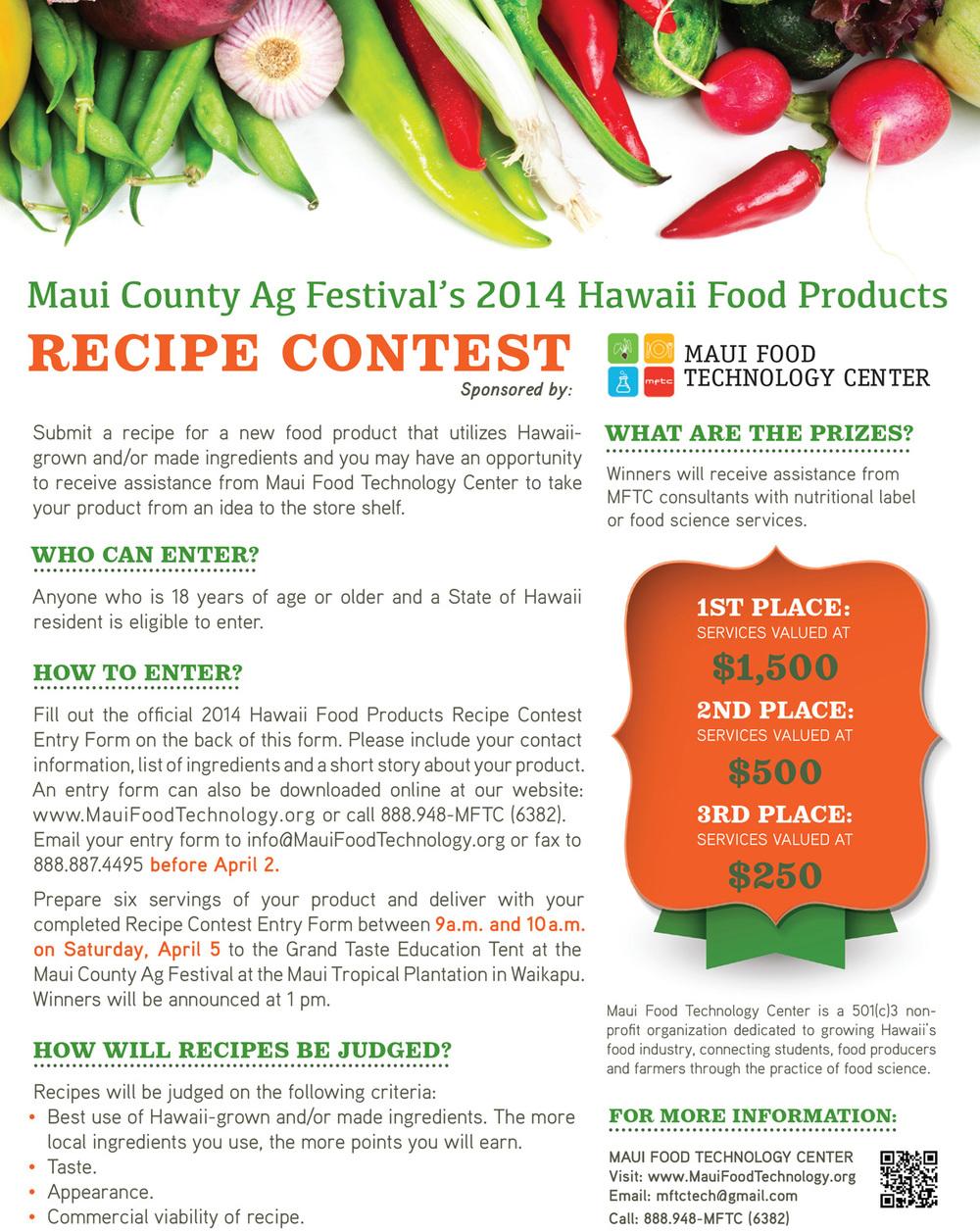News — Maui Food Technology Center