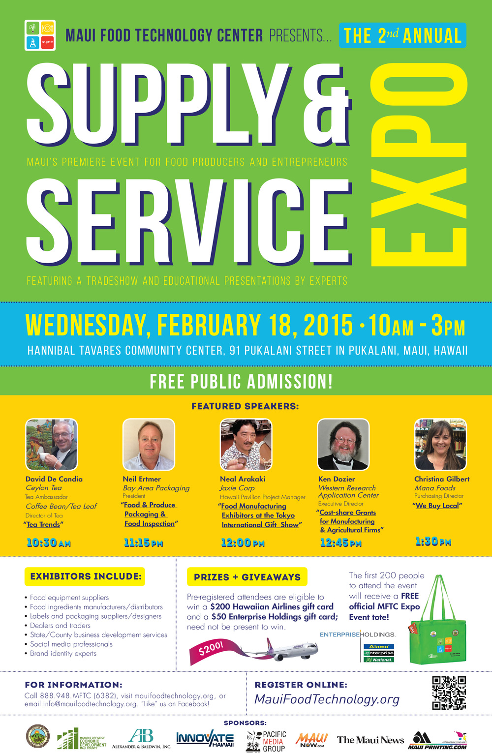 MFTC Supply & Service Expo flyer