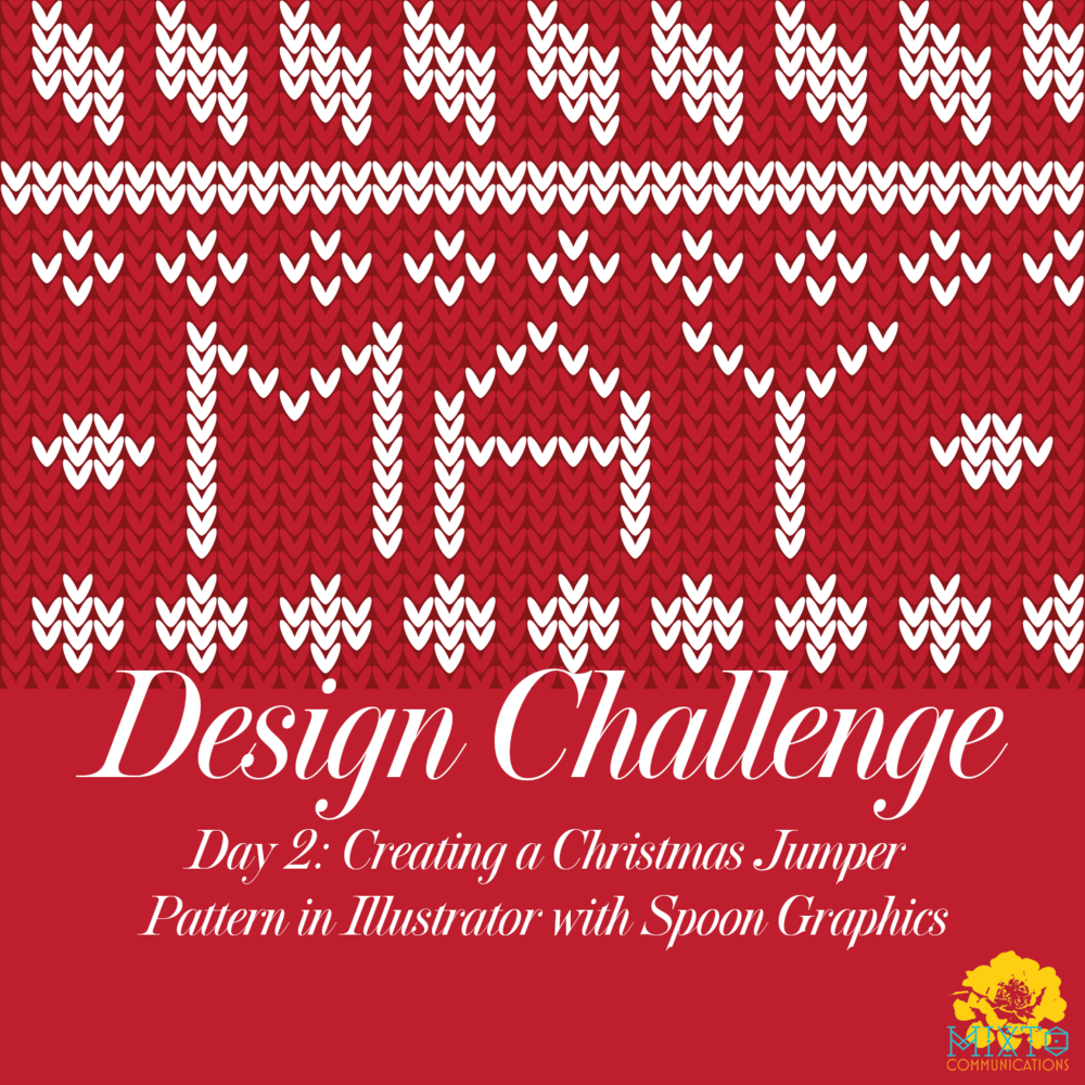 5ba72b50b Design Challenge Day 2  Christmas Jumper Pattern in Illustrator ...